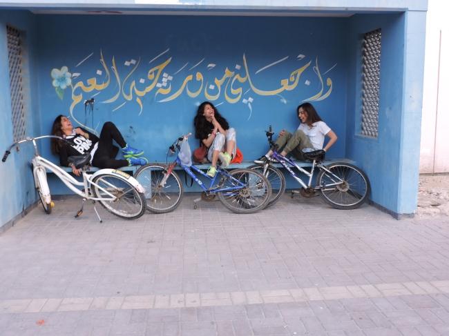 Bus stop at Jasra
