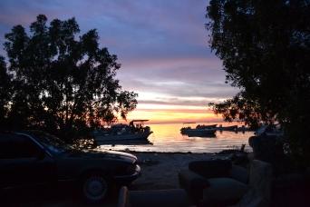 Sunset over Damistan Beach - Photo by Mawane